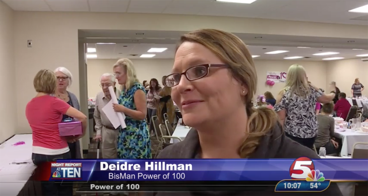BisMan Power of 100 women donates over $10,000 to non-profits